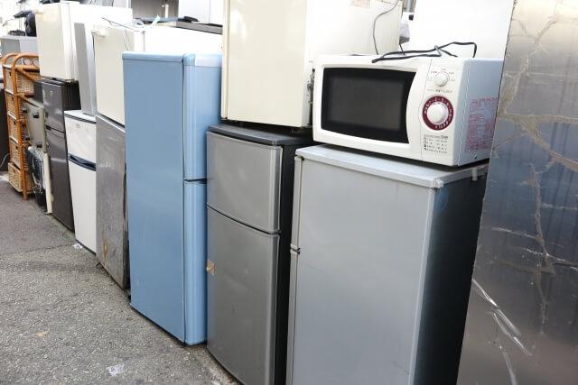 冷蔵庫など家電リサイクル